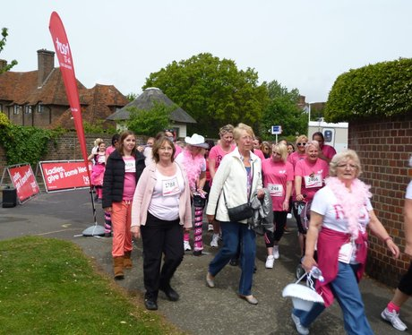 Folkestone Race For Life - The Race!