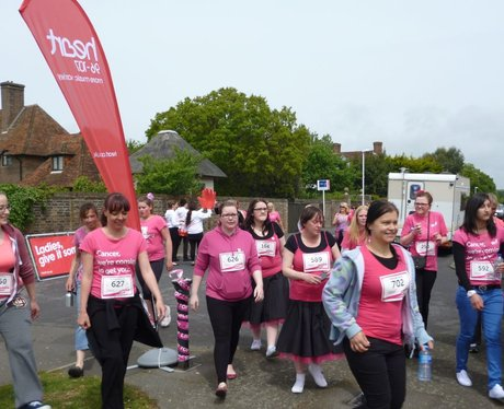 Folkestone Race For Life - The Race!