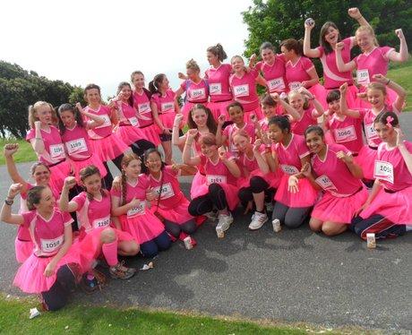 Folkestone Race For Life - Tutus!