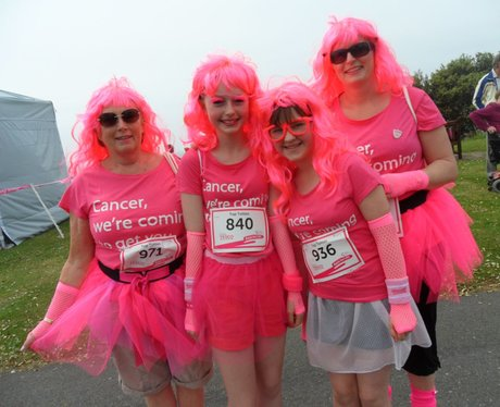 Folkestone Race For Life - Tutus!
