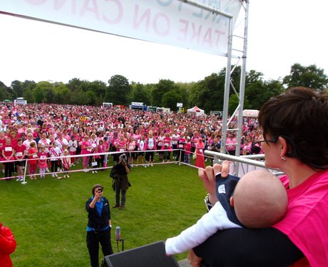 Race for Life Bedford From the Stage