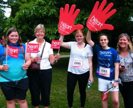 Ladies at Crawley Race For Life you were amazing!