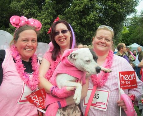 Did you get see the Heart Angels at Race For Life