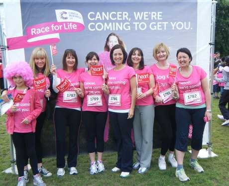 Race for Life Watford - Before the race