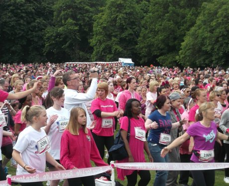 Race for Life Watford - Crowd Shots
