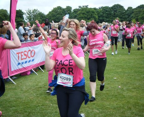 Race for Life Watford - Finish Line