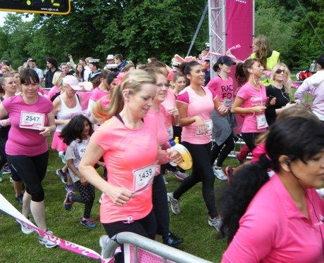 Race for Life Watford 2013 - Start Line