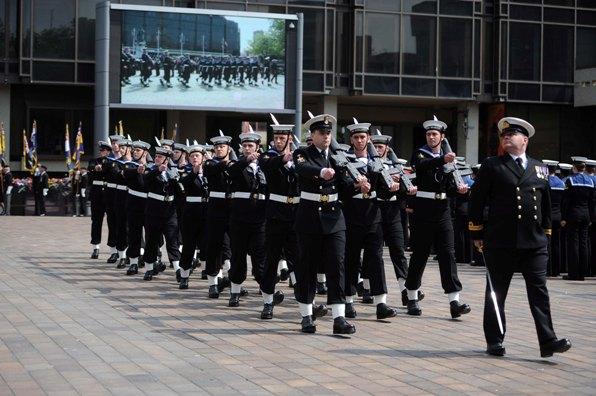 Armed Forces Day Parade Portsmouth