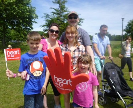 Did you see The Heart Angels at the Race For Life