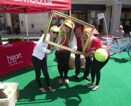 Cabot Circus Loves Wimbledon - Saturday