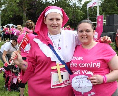 Luton Race for Life - Big Smiles