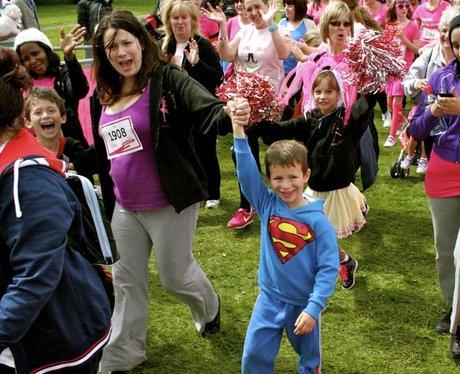 Luton Race For Life Start Line