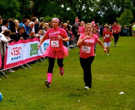 Race For Life Luton Finish Line
