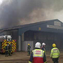 Stretham Fire