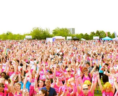 A Very Pink Stage in Milton Keynes