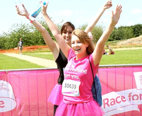 At the Finish Line in MK at Race for Life
