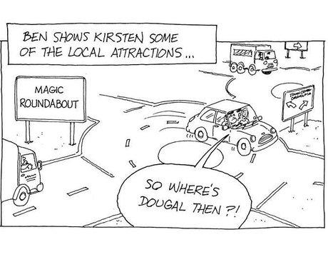 Ben & Kirsten Cartoon