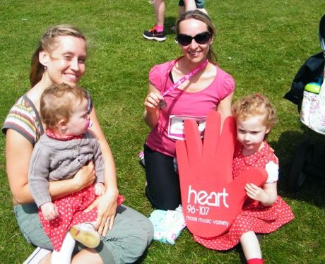 Did you bump into the Heart Angels at Brighton's R