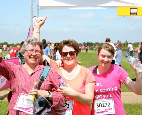 Finish Line Smiles at Race for LIfe in Milton Keyn