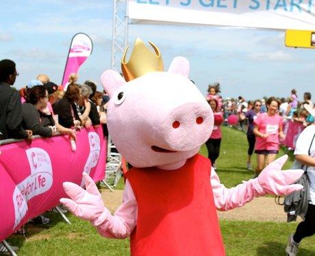 Finish Line Smiles at Race for LIfe in Milton Keyn