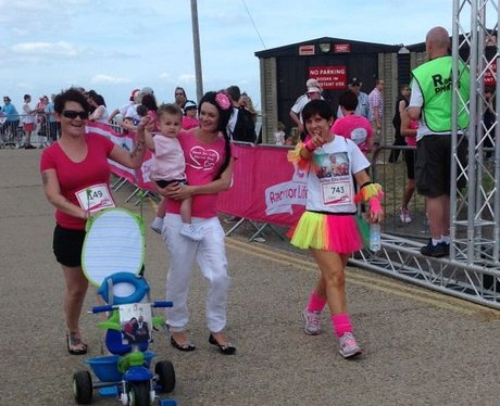 Herne Bay Race For Life - The Race