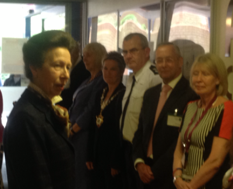 Princess Anne In Kettering