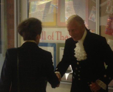 Princess Anne In Kettering