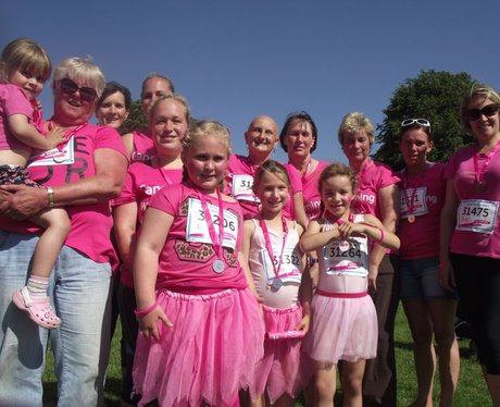 Race for Life Bristol 10k - Finishers