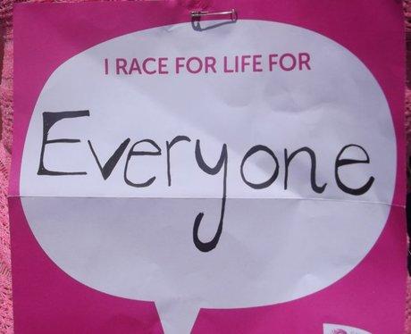 Race for Life Bristol 10k - Pre Race