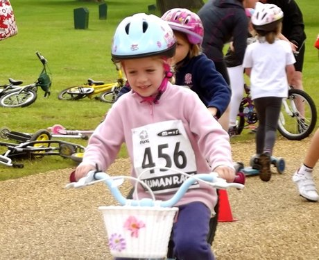 The Scootathlon at Cycletta Bedfordshire