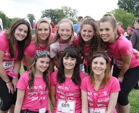 The Team Shots at Coventry Race for Life