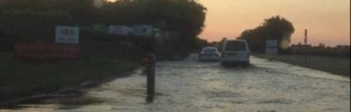 The flooded A259