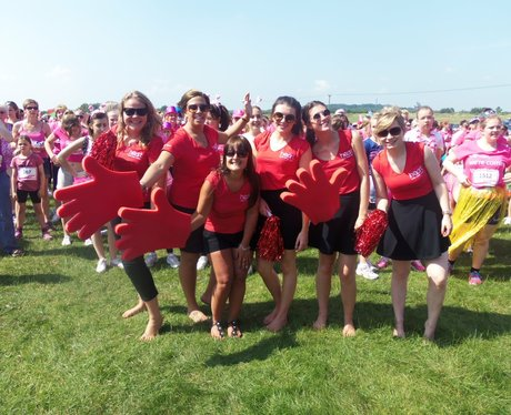 Angels at Newbury Race for Life