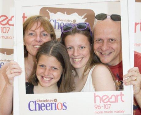 Chocolatey Cheerios at Merry Hill