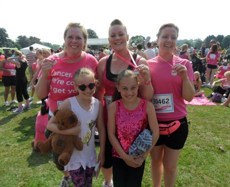Maidstone Race for Life 10K - Medals