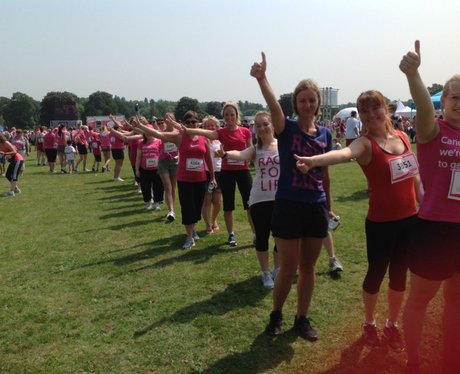Maidstone Race for Life 5K - Pre-Race