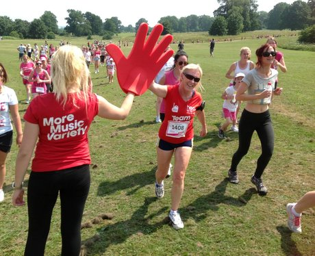 Maidstone Race for Life 5K - Team Heart!