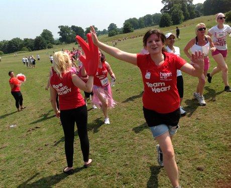 Maidstone Race for Life 5K - Team Heart!