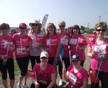 Newbury Race for Life - Pink Ladies
