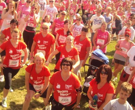 Race for Life Bristol 5k - Team Heart