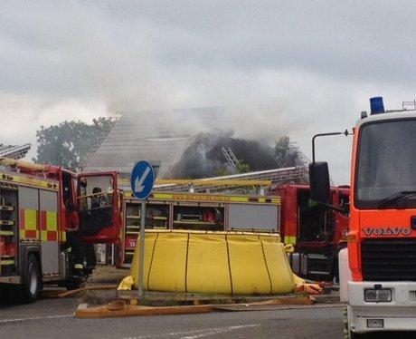 Thornborough Fire