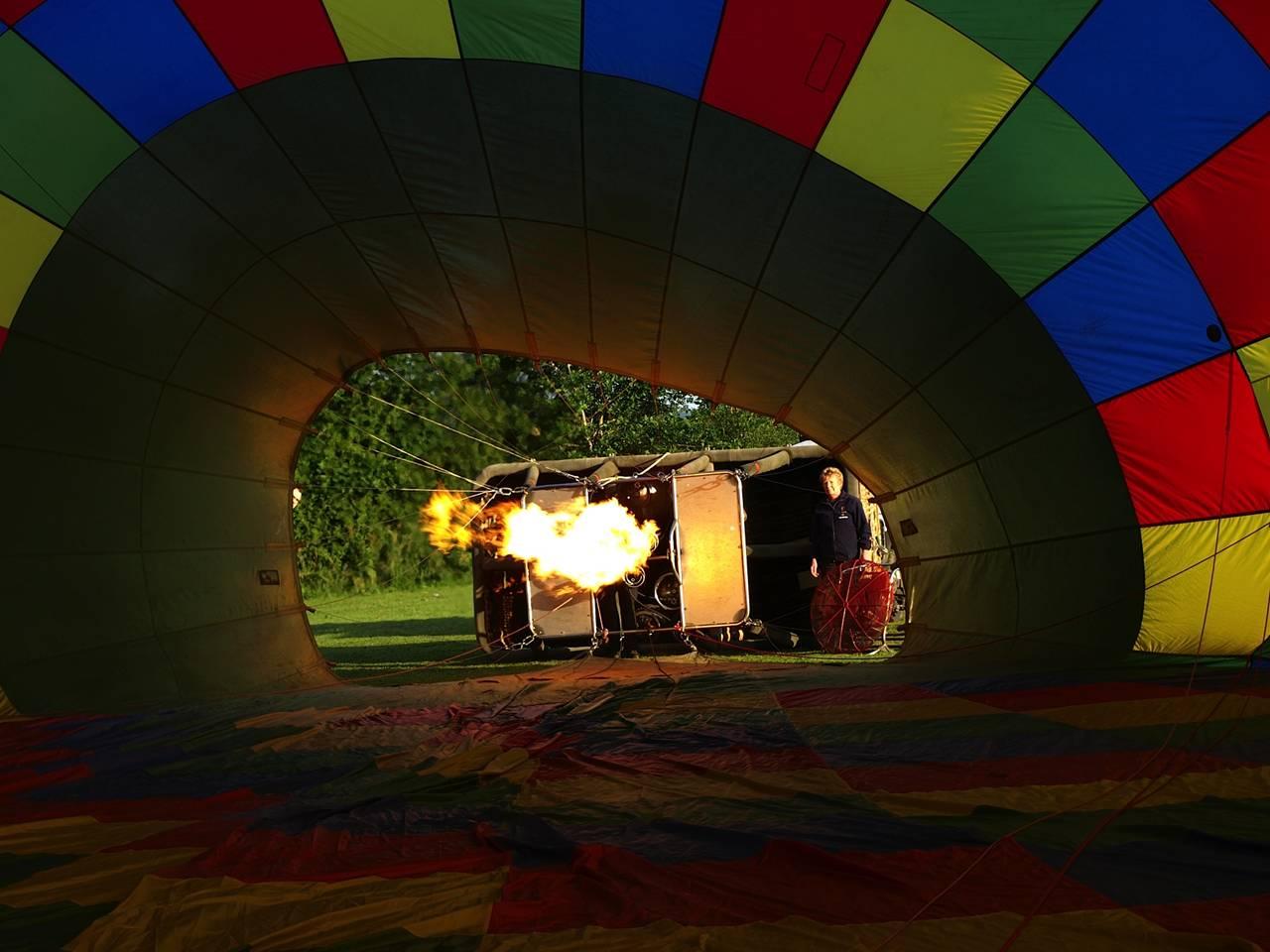 Tiverton Balloon festival