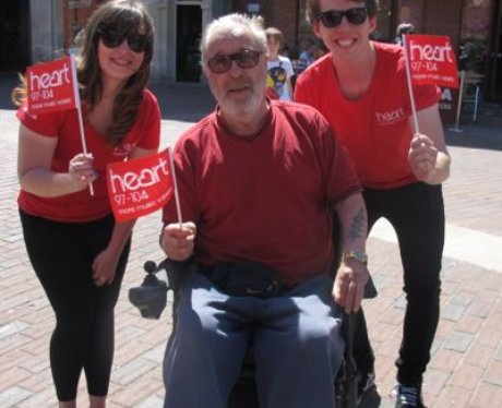Check out the pictures of the Heart Angels helping