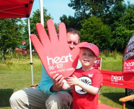 Did you bump into the Heart Angels at the kite fes