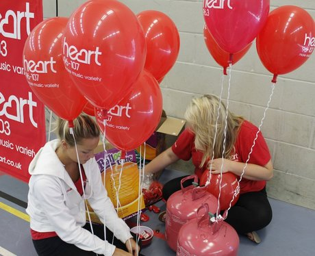 Pictures of the Heart Breakfast Rollerpaloozza