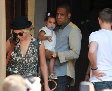 Jay-Z, Beyonce and Blue Ivy