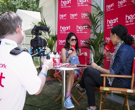 Backstage At Heart In The Park