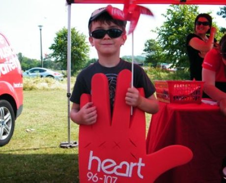 If you had your photo taken with the Heart Angels
