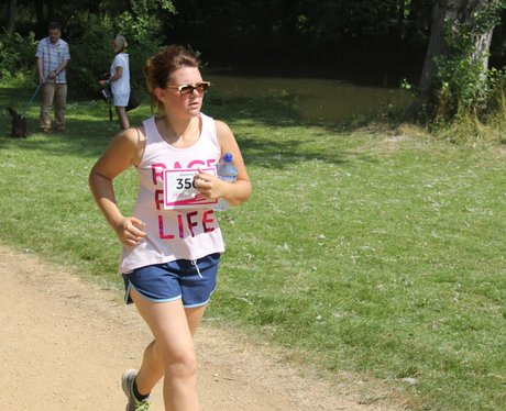 Oxford Race for Life Cheer Zone Fun