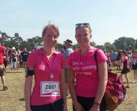 Oxford Race for Life 2013 - Finish Line